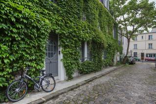 House garden Paris Villa Hersent