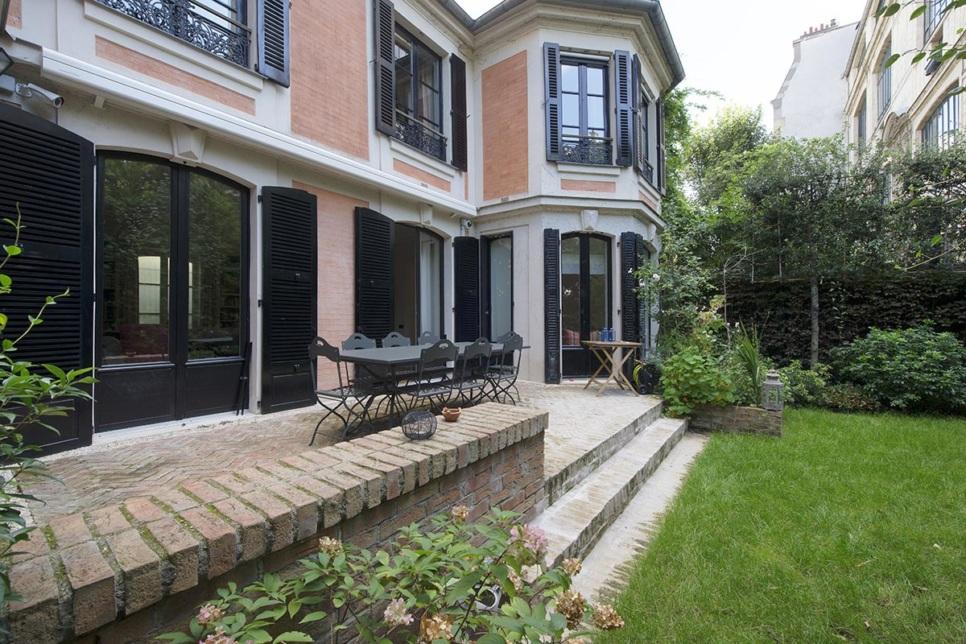 House garden Terrace Paris 9