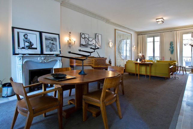 Furnished house Rue Vital Paris 16 Passy