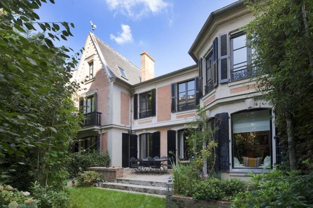 House garden Terrace Montmartre