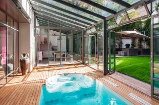 House swimming-pool Paris 15