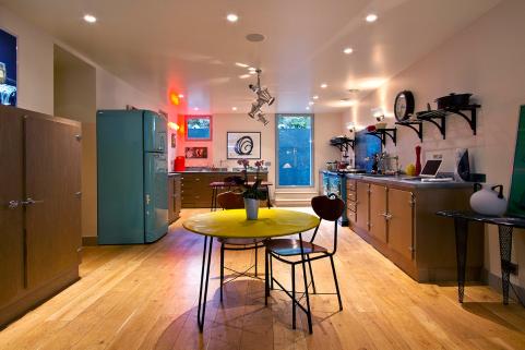 Kitchen furnished house Paris 16th arrondissement Passy