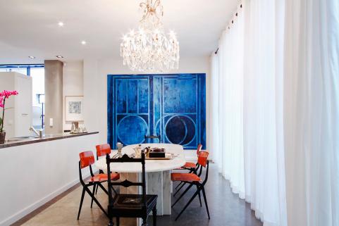 Dining room loft Paris