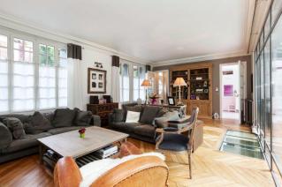 Sitting-room furnished apartement Paris 15
