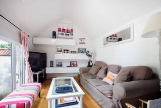 sitting-room furnished house Paris Avenue Général Leclerc