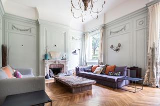 Sitting-room furnished house Avenue Emile Deschanel