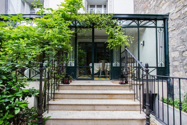 Garden house Paris