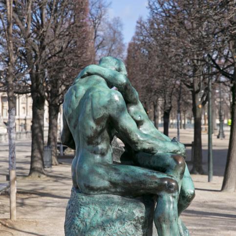 Le Baiser Rodin Tuileries