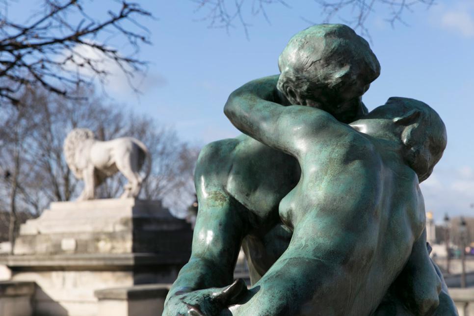 Sculpture Le Baiser Rodin Paris
