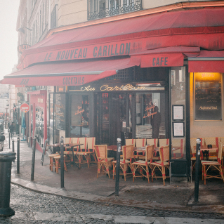 Café Abbesses Paris 18