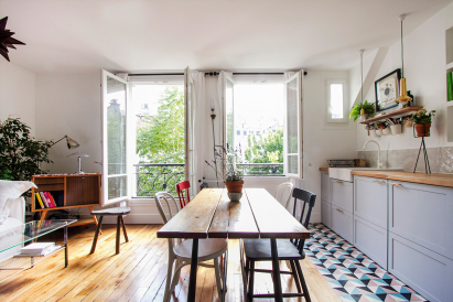 furnished apartment Montmartre