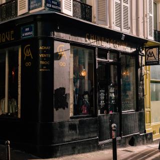 rue des Martyrs boutique shopping vintage Paris