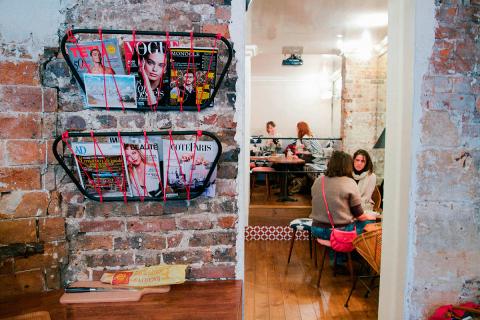 drink café interior rue chapon Paris