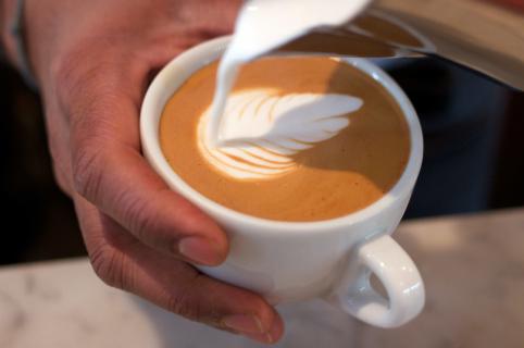 cappucino café Loustic Paris
