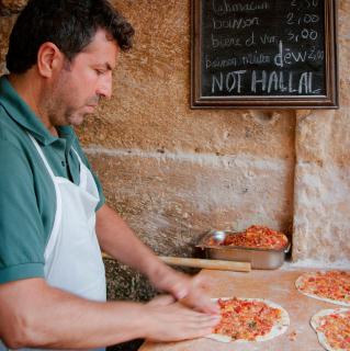 pizza kurde restauration rapide