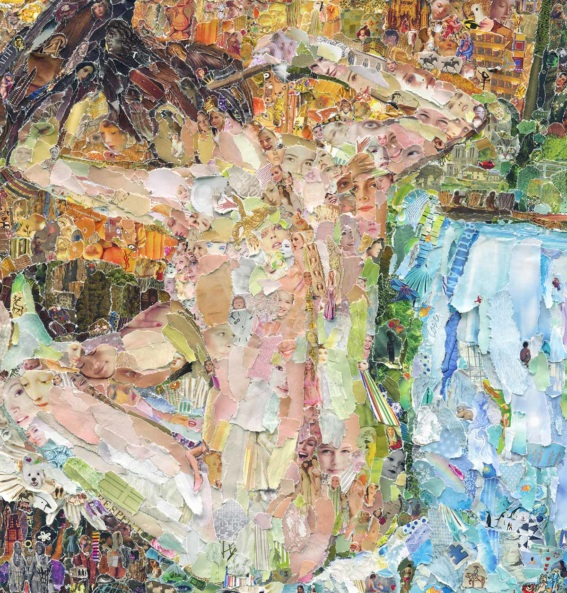 Degas Vik Muniz painting