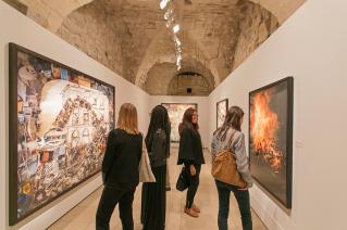 exhibition Maison Européenne de la Photographie Paris art compositon