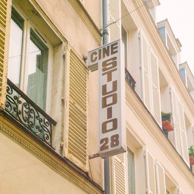 Ciné cinéma Paris culture film Studio 28 Montmartre
