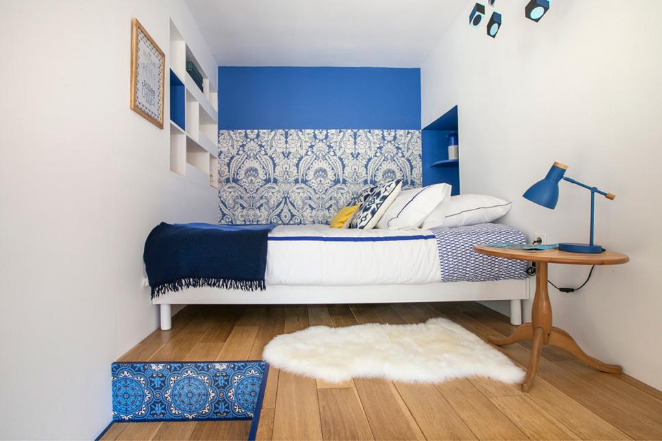 sleeping area paris apartment