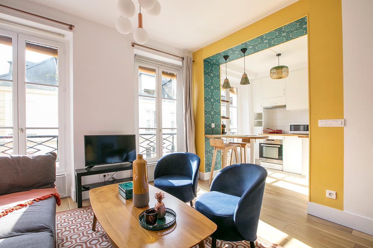 Studio meublé quartier parisien