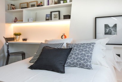 bedroom furnished apartment Paris