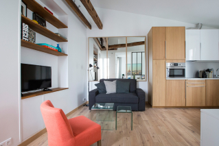 architecte redesign space room apartment Paris