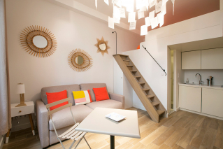 rent furnished studio Paris 6th