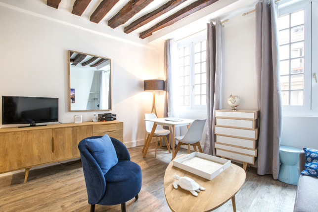 rue Mazarine Paris rental