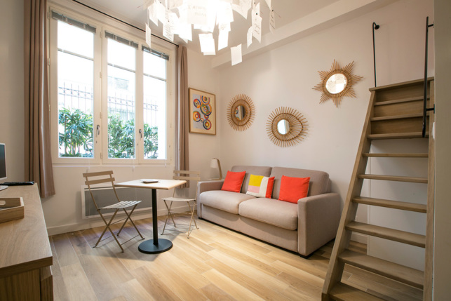 furnished studio Paris Saint-Germain-des-Prés