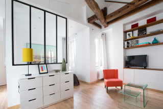 rental furnished apartment Paris 6th