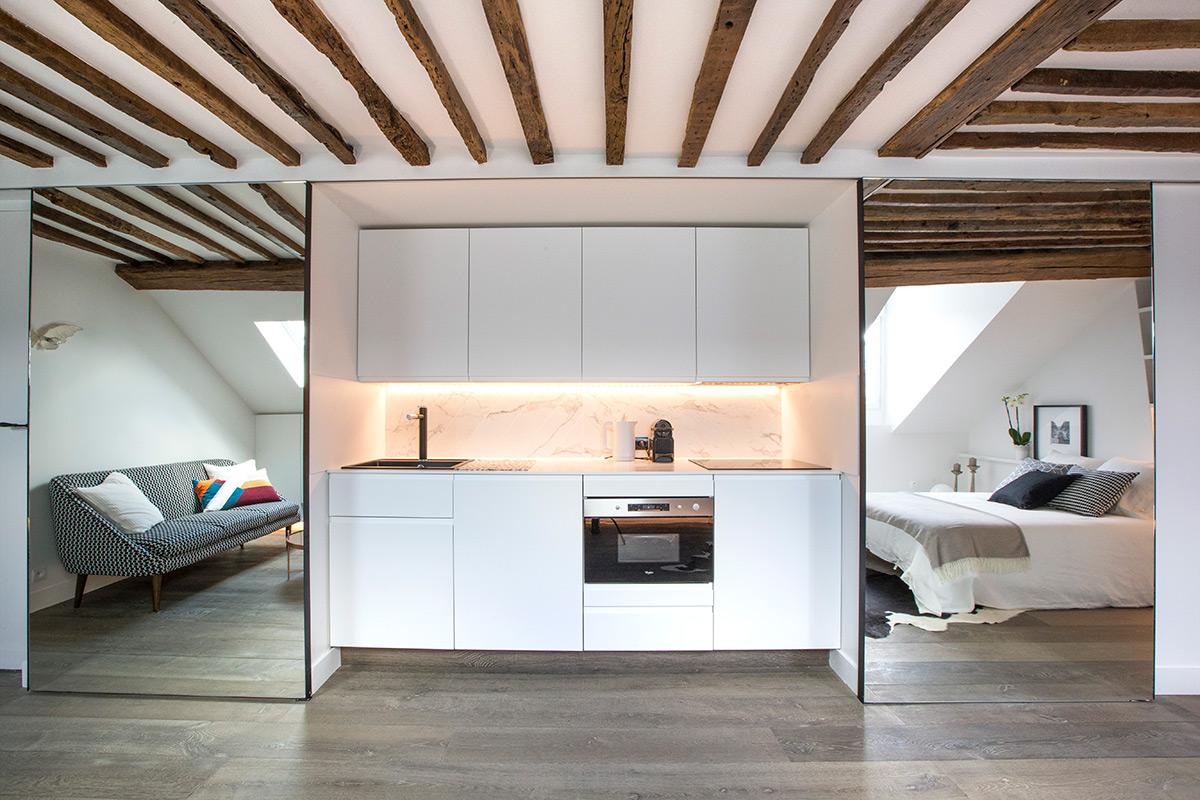 Architecte Interieur Paris Petite Surface comment optimiser l'espace de son studio parisien ? astuces
