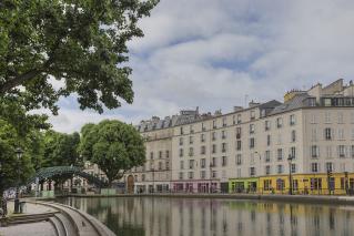 Vivre Paris 10ième arrondissement canal saint-martin