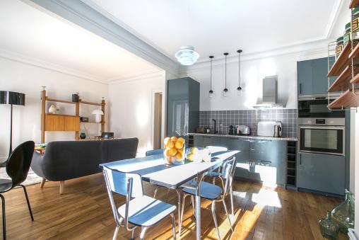 cuisine pièce à vivre Paris