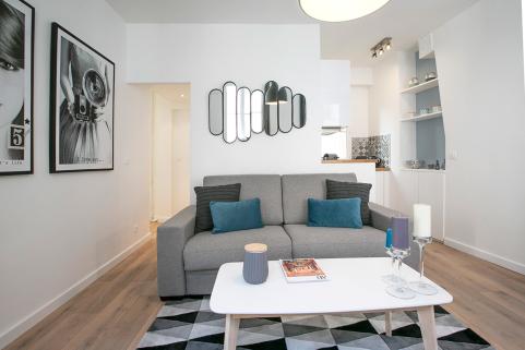 one-bed apartment Paris 02