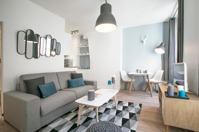 rent furnished scandinavian-style