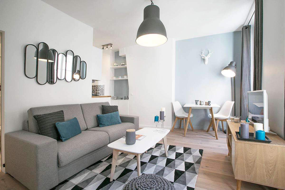 Appartement meublé chaleureux
