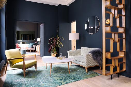 décoration intérieure appartement Red Edition