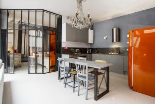 loft glazed partitions Paris