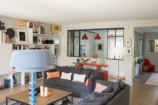 furnished four-bedroom apartment Paris