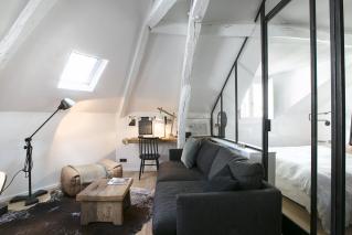 Paris furnished apartment in Batignolles neighbourhood