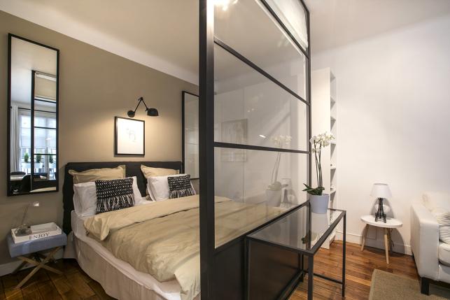 furnished studio rental Paris
