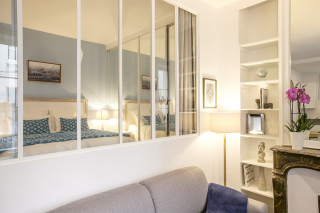 furnished two-bedroom apartment Paris