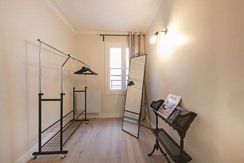 dressing appartement Paris