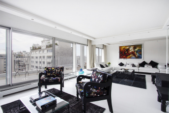 3 bedrooms apartment with terrace Paris 16th Passy