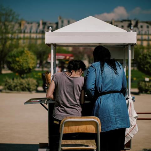 Jardins parcs squares Paris - Photographie Thomas Deschamps