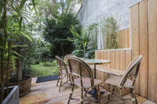 apartement terrace garden centre Paris