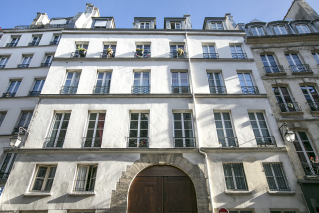 Apartment Paris building former convent Le Marais