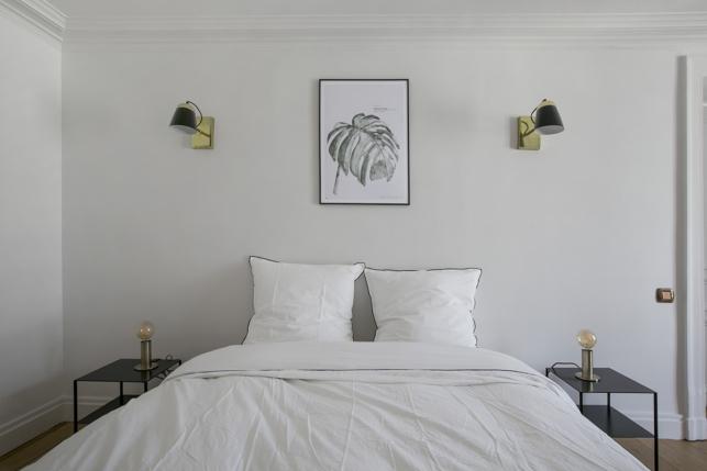 master bedroom apartment Paris Saint-Honoré
