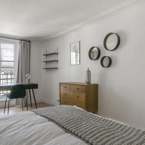 Furnished apartment interior decoration house Bonami Paris