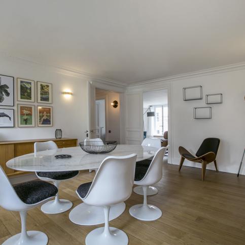 furnished rental apartment Paris Bianca Marvin